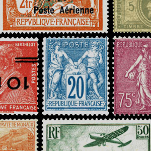 Collectable stamps - France