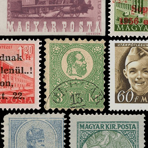 Collectable stamps - Hungary