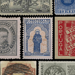 Timbres-poste de collection - Portugal