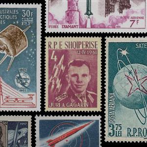 Sammelbereich - Briefmarken - Raumfahrt