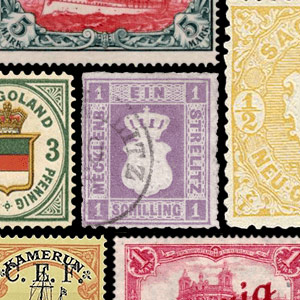 Collectable stamps - Germany
