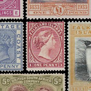 Verzamelpostzegels - Groot-Brittannië (oude kolonies en protectoraten)
