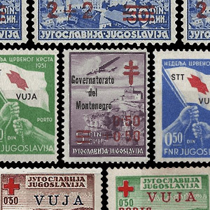 Collectable stamps - Yugoslavia