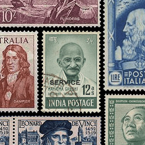 Collection theme - Postage stamps - Famous people