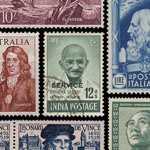 Verzamelingsthema - Postzegels - Beroemde personen