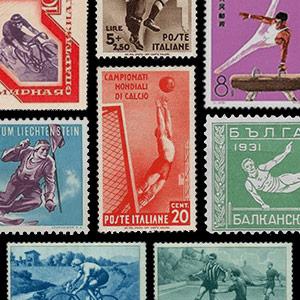 Thématique de collection -Timbres-poste - Sports