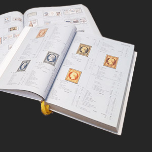 Stamp collecting material - Catalog and Literature