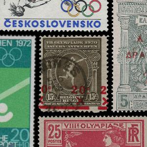 Tema della collezione - Francobolli - Giochi Olimpici