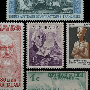 Collection theme - Postage stamps - History