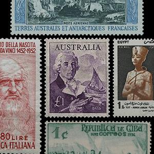 Thématique de collection -Timbres-poste - Histoire