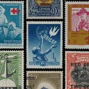 Collection theme - Postage stamps - Organizations