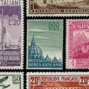 Verzamelingsthema - Postzegels - Architectuur