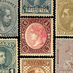 Collectable stamps - Spain