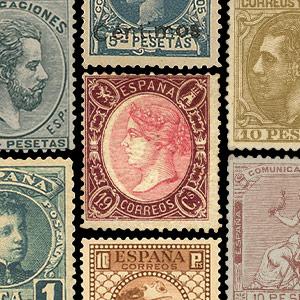 Sammler-Briefmarken - Spanien