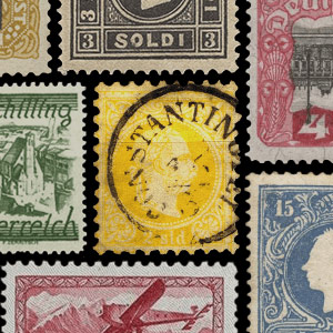 Collectable stamps - Austria