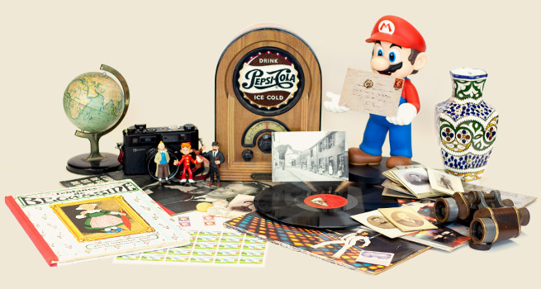 La marketplace des collectionneurs
