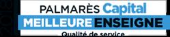 Award Palmarès Capital de la meilleure enseigne