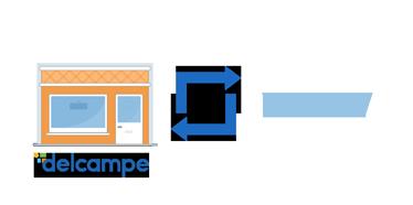 Indem Sie Delcampe mit Ihrer eigenen Website synchronisieren
