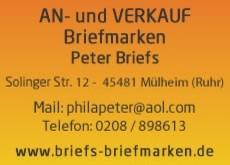 Briefs briefmarken