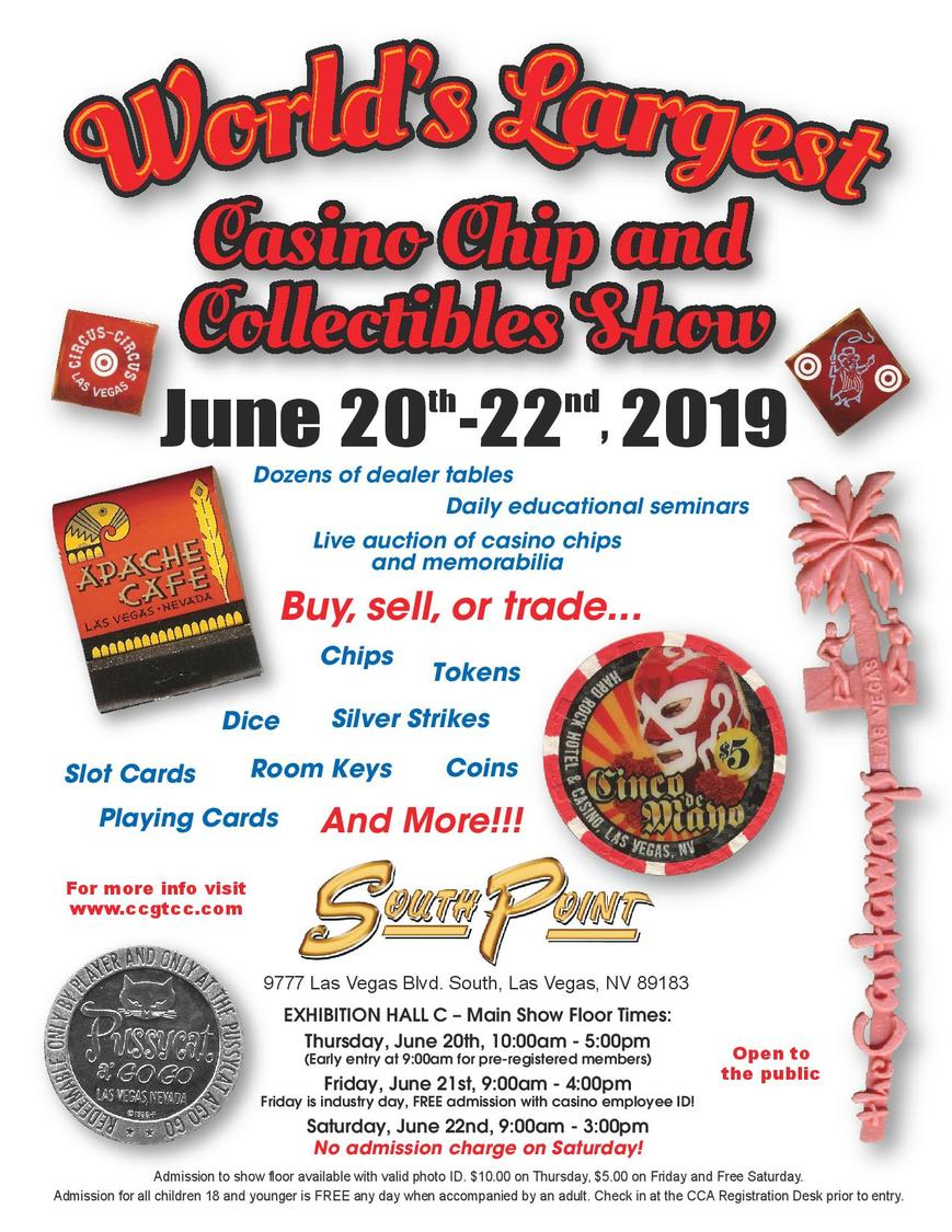 Casino Chip And Collectibles Show