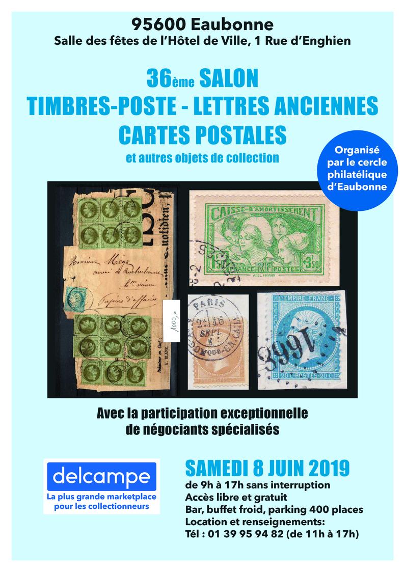 36ème SALON Aux TIMBRES-POSTES, LETTRES ANCIENNES, CARTES POSTALES