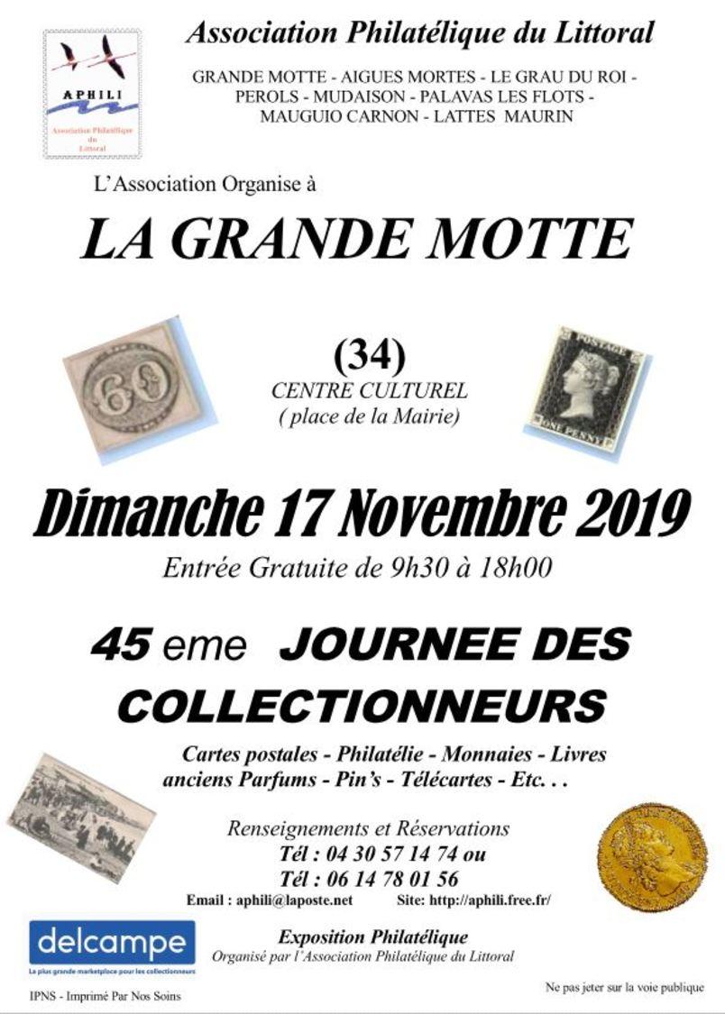 45ème Journée Des Collectionneurs De La Grande Motte