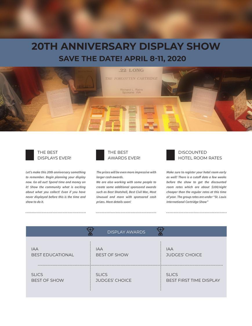 St. Louis International Cartridge Show