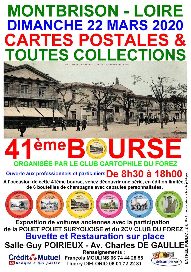 41ème Bourse CARTES POSTALES ET TOUTES COLLECTIONS