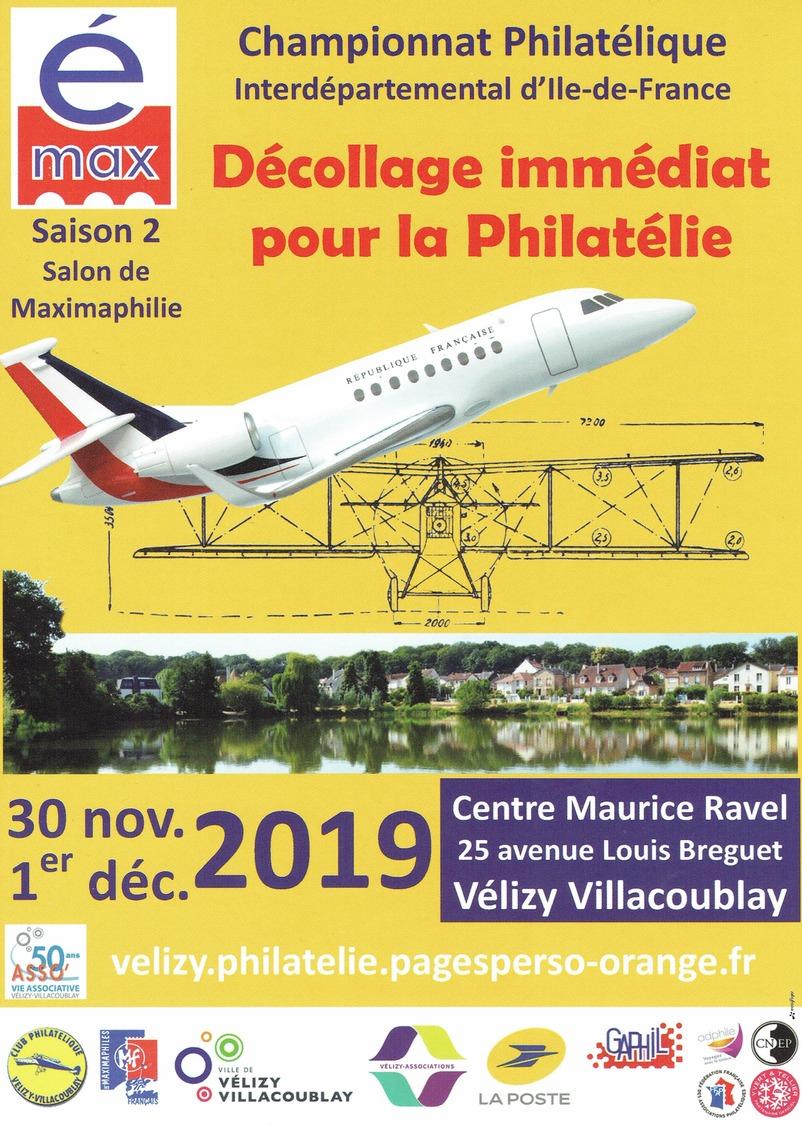 é-max Et Championnat Interdéparentemental De Philatélie D'ïle De France