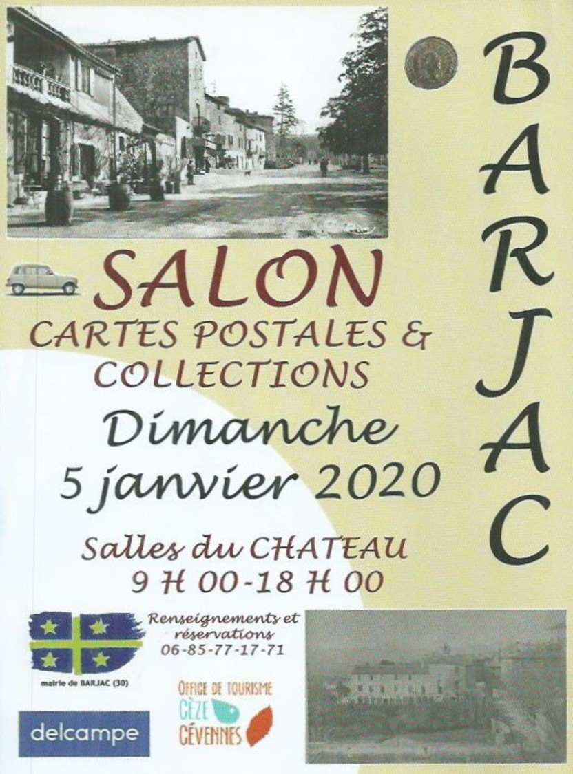 Salon Des Cartes Postales Et Toutes Collections De Barjac