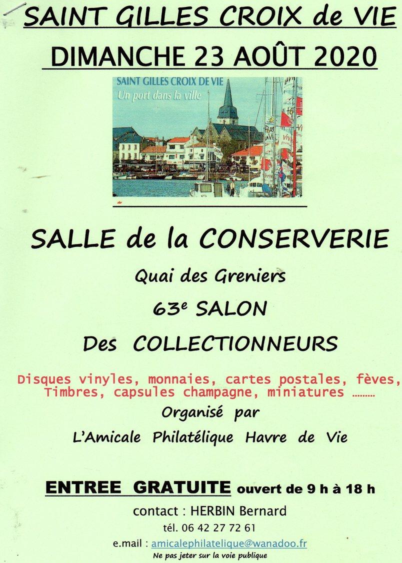 63e Salon Des Colelctinneurs