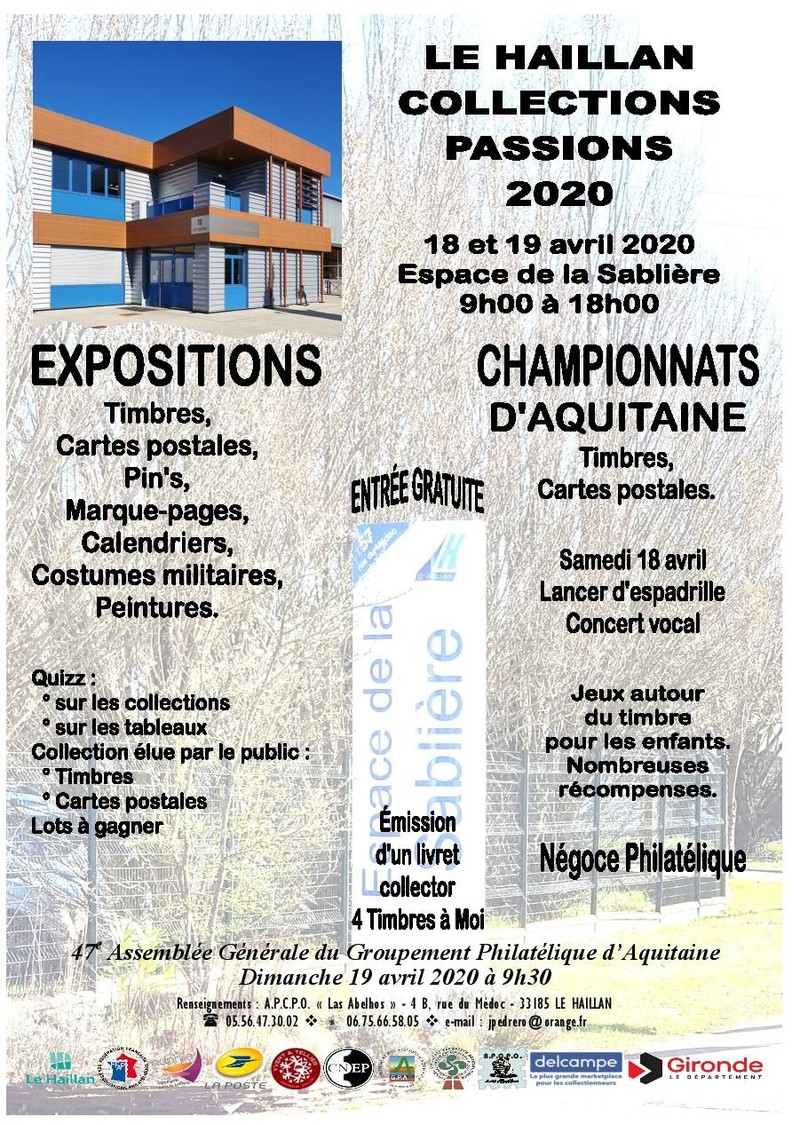 Le Haillan Collections Passions 2020