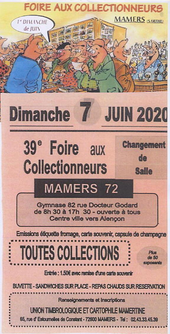 39è FOIRE Aux COLLECTIONNEURS