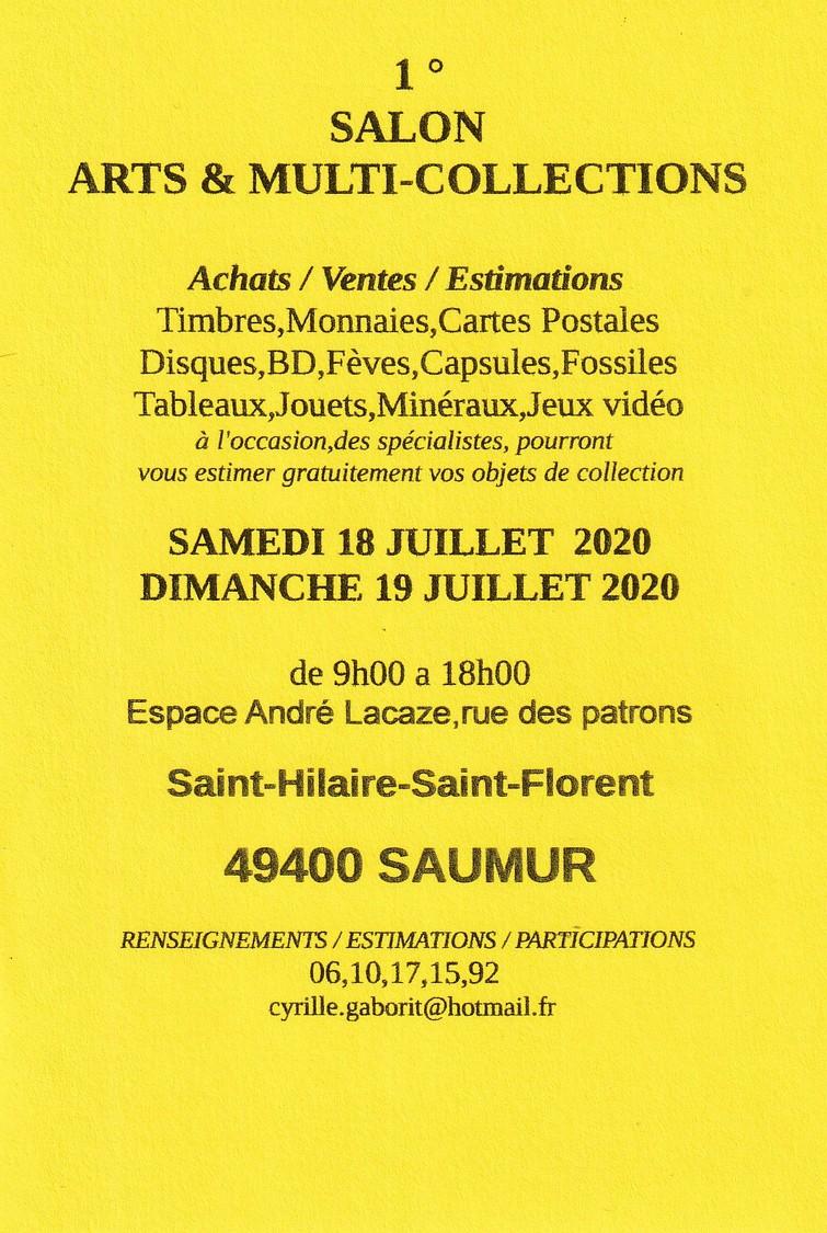 SALON ARTS ET MULTI-COLLECTIONS 49400 SAUMUR