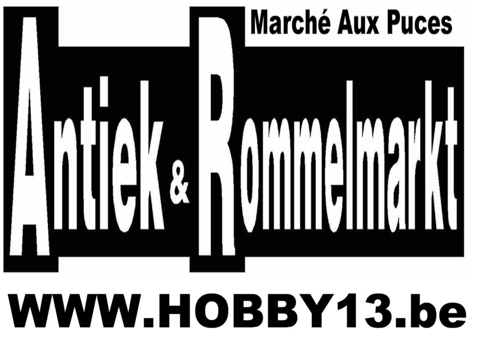 Open Lucht Rommelmarkt Te Grammene
