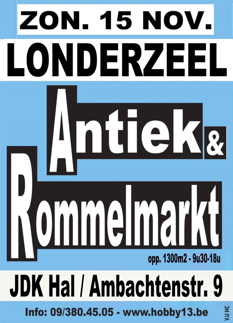 Antiek & Rommelmarkt Te Londerzeel