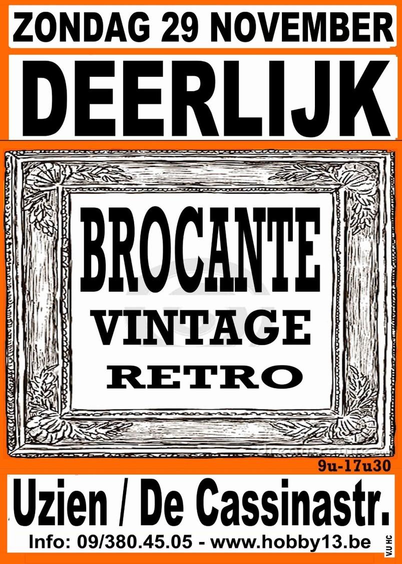 Retro-Brocante-Vintage Te Deerlijk