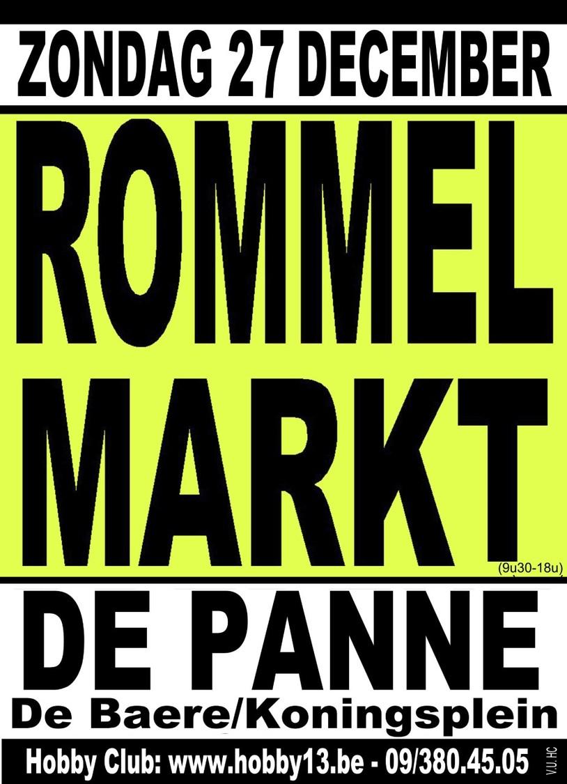 Antiek & Rommelmarkt Te De Panne