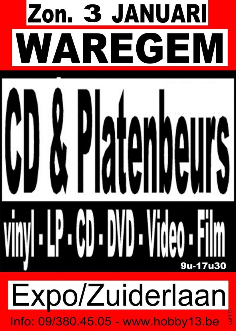 8ste Cd & Platenbeurs Te Waregem