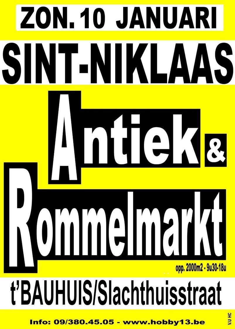 Antiek & Rommelmarkt Te Sint-Niklaas