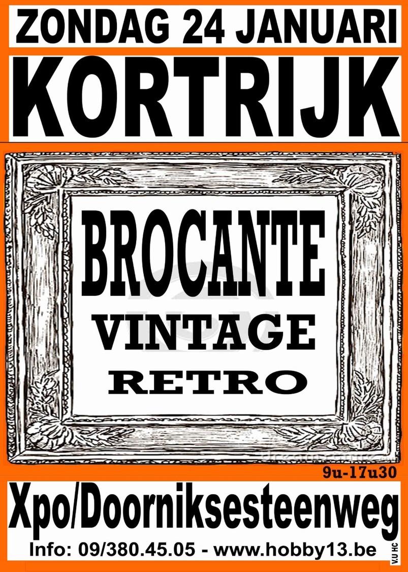 Retro-Brocante-Vintage Te Kortrijk