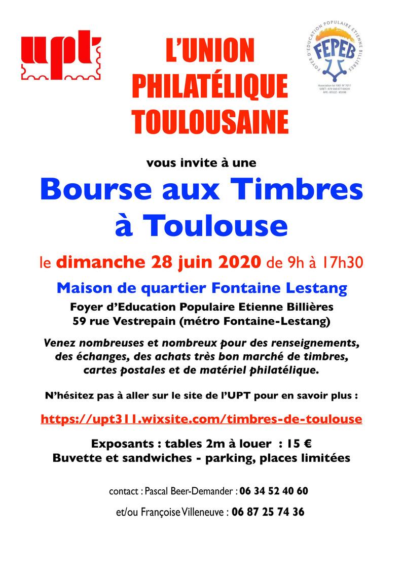 Bourse Aux Timbres à Toulouse