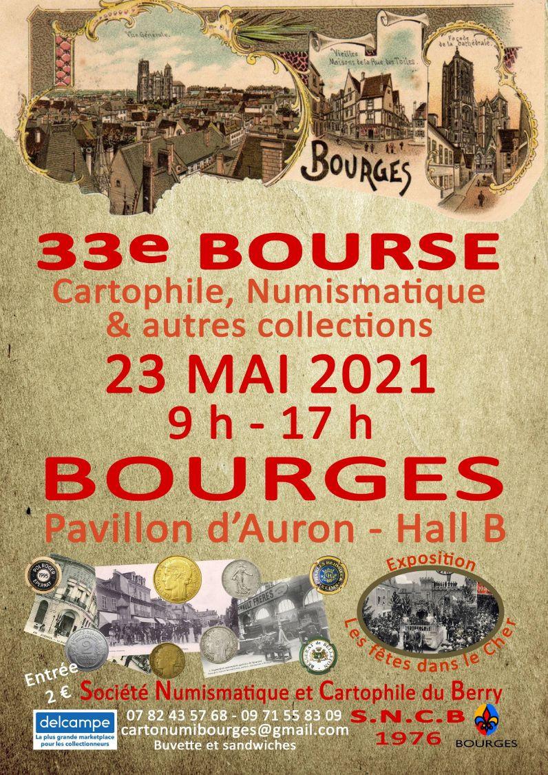 33ème Bourse Aux Monnaies, Cartes Postales Et Autres Collections