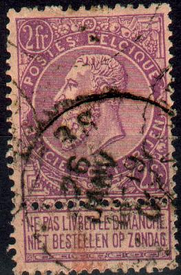 Ee282:N°66:[°]: - 1893-1900 Fine Barbe
