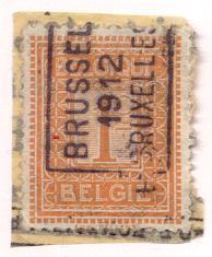 Eh135:N° 1986 (-tab):A: BRUSSEL 1912 BRUXELLES - Préoblitérés