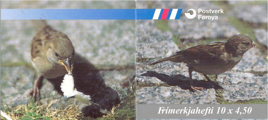 Faroer : Stamp Booklet : Sedentary Birds - Mint - Vogels