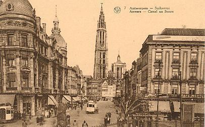7 - Canal Au Sucre - Suikerrui - Anvers - Antwerpen
