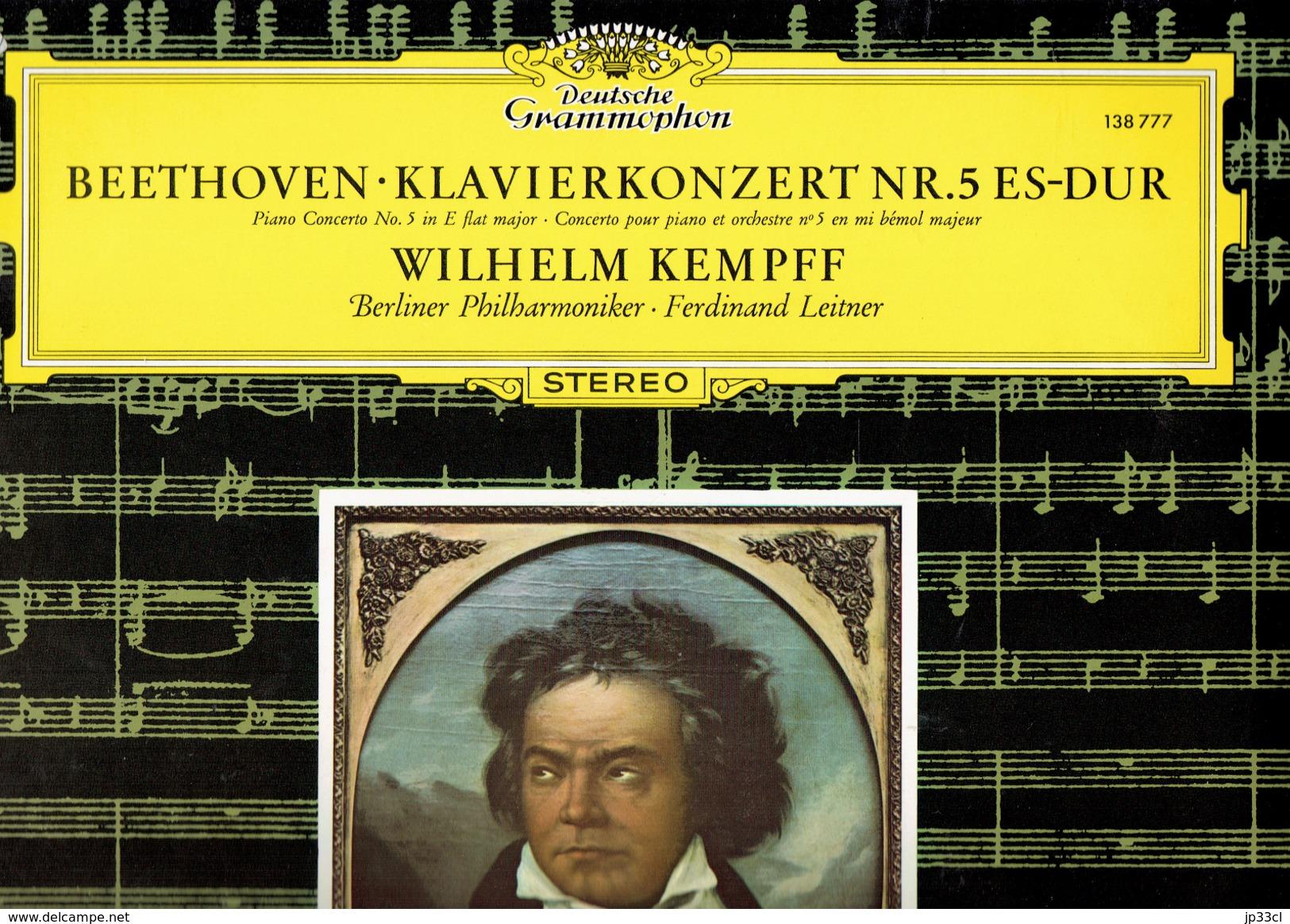 Beethoven - Concerto Pour Piano N° 5 Par Wilhelm Kempf Deutsche Grammophon - Classique