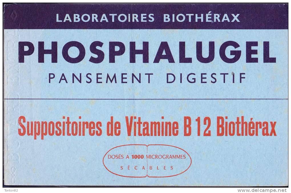 Buvard - Laboratoires Biothérax - Phosphalugel - Produits Pharmaceutiques