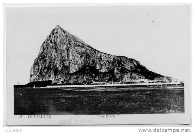 GIBRALATR  THE ROCH - Gibraltar